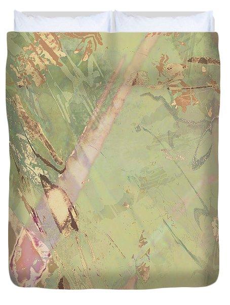 Wabi Sabi Ikebana Revisited Shabby 3 Duvet Cover
