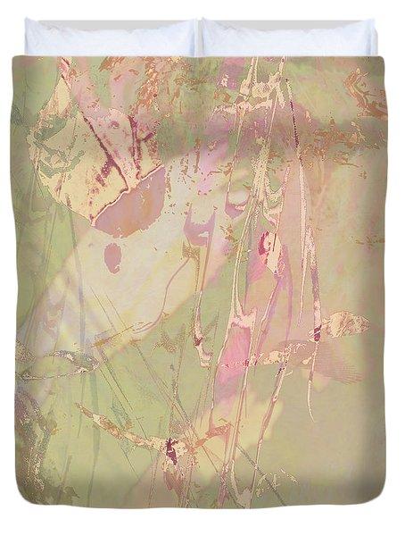Wabi Sabi Ikebana Revisited Shabby 4 Duvet Cover