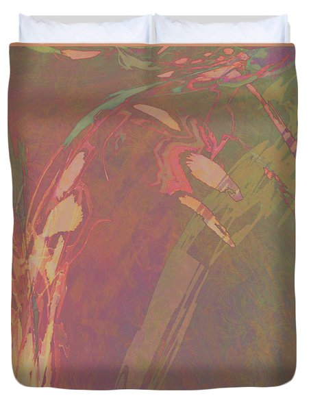Wabi-sabi Remix Rainbow Dance Duvet Cover