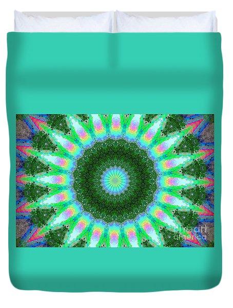 Wacky Kaleidoscope Duvet Cover