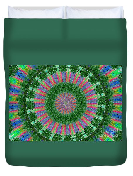 Wacky Kaleidoscope Three Duvet Cover