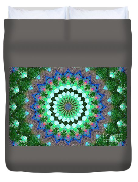 Wacy Kaleidoscope Two Duvet Cover