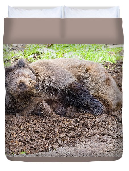 Waddya Want Duvet Cover