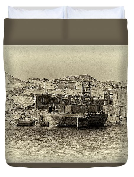 Wadi Al-sebua Antiqued Duvet Cover