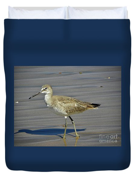 Wading Day Duvet Cover