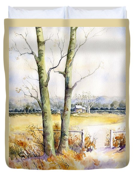 Wagner's Farm Duvet Cover