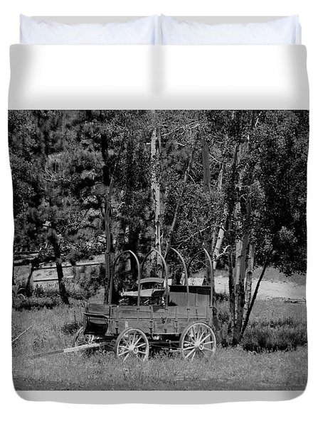 Wagon Trail Duvet Cover