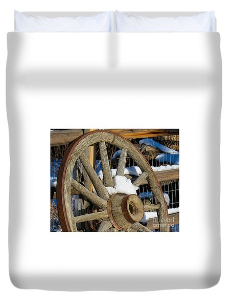 Wagon Wheel 1 Duvet Cover
