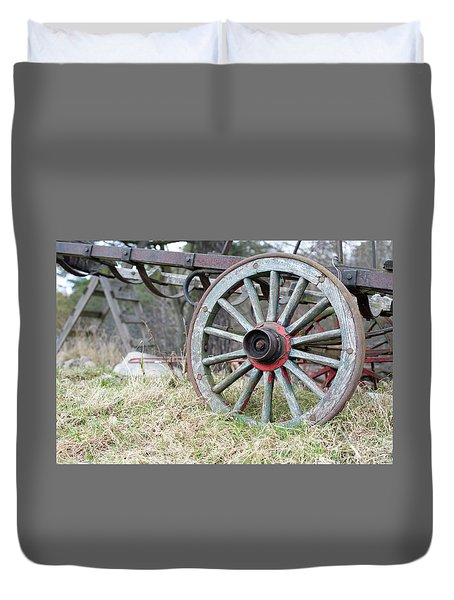 Wagon Wheel 2 Duvet Cover