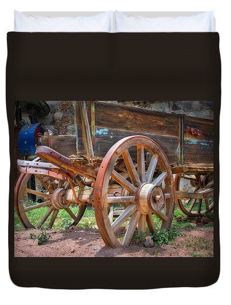 Wagons Ho Duvet Cover