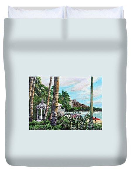 Waikiki Duvet Cover
