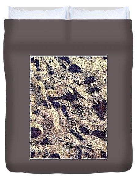 Waikiki Sand Duvet Cover