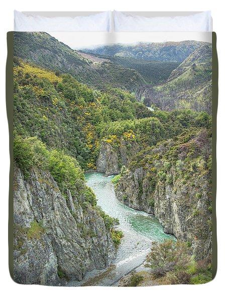 Waimakariri Gorge Duvet Cover