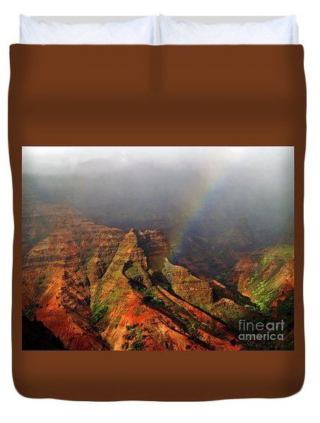 Waimea Canyon I Duvet Cover by Patricia Griffin Brett