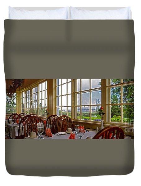 interior Waimea restaurant big island Hawaii  Duvet Cover
