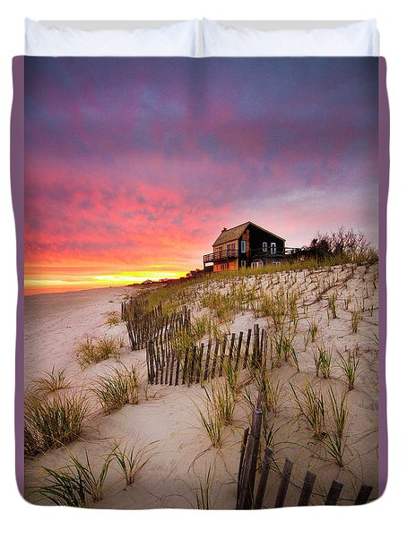 Wainscott Sunset Duvet Cover