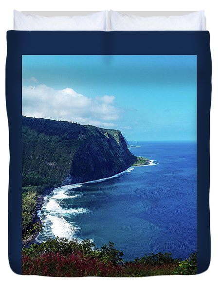 Waipio Valley Duvet Cover