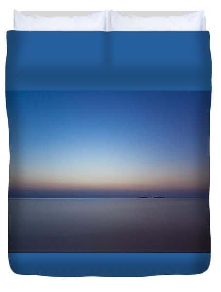 Waiting For A New Day Duvet Cover