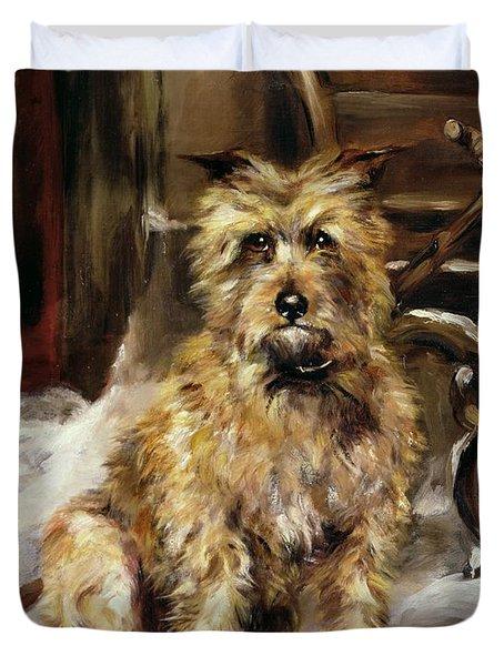 Waiting For Master   Duvet Cover by Jane Bennett Constable