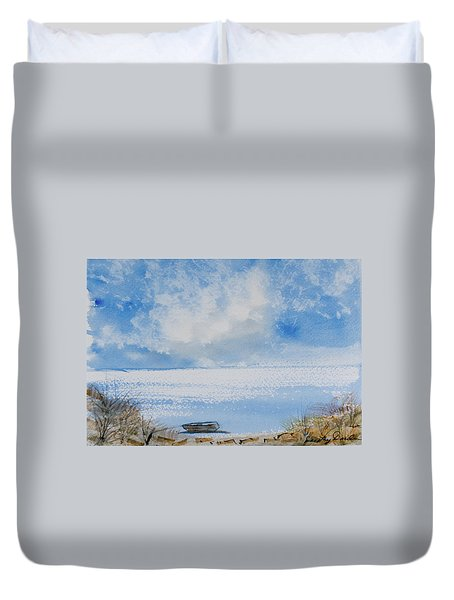 Waiting For Sailor's Return Duvet Cover