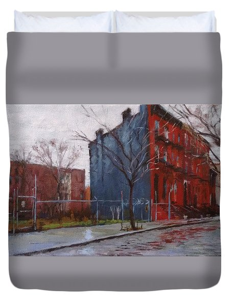 Waiting For Spring No. 2 Duvet Cover