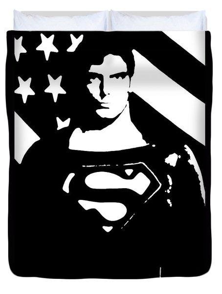 Waiting For Superman Duvet Cover