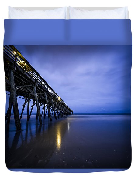 Waiting For The Dawn Duvet Cover
