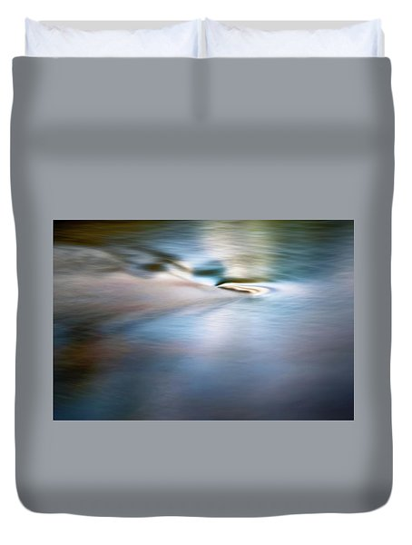 Waiting For The River Duvet Cover