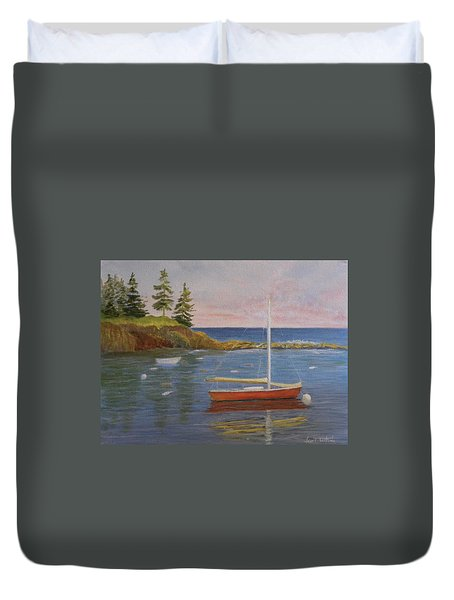 Waiting For The Wind Duvet Cover