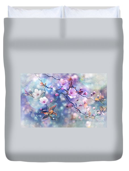 Waiting For Tomorrow Duvet Cover by Agnieszka Mlicka