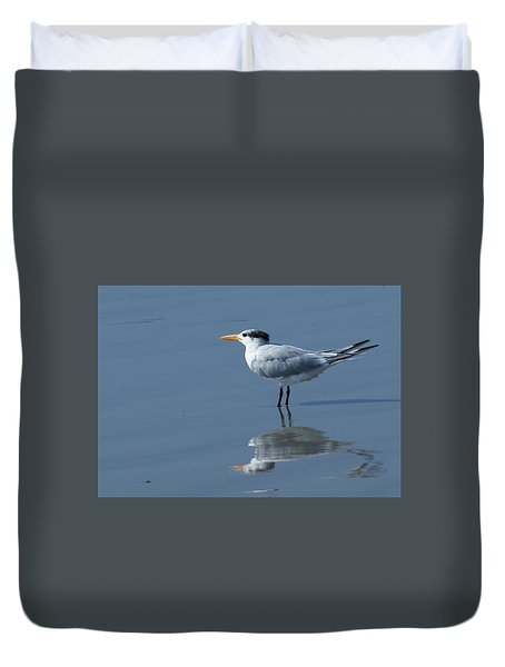 Waiting In The Surf Duvet Cover