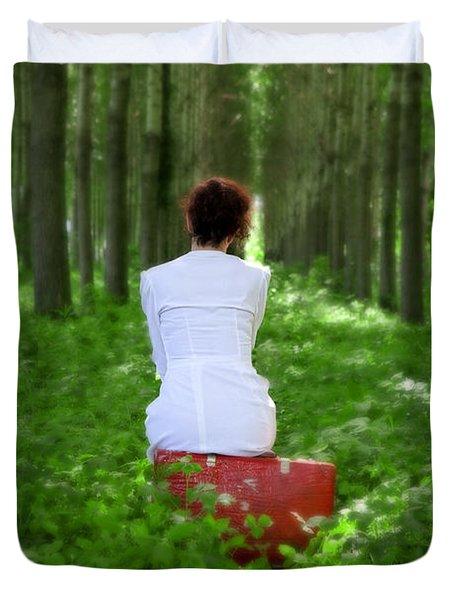 Waiting Duvet Cover by Joana Kruse