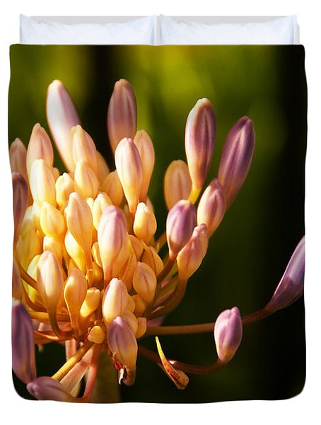 Waiting To Blossom Into Beauty Duvet Cover