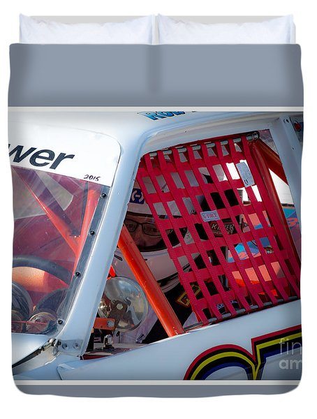 Waiting To Race Duvet Cover