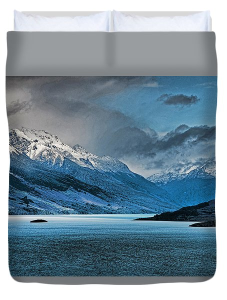 Wakatipu Lake Duvet Cover