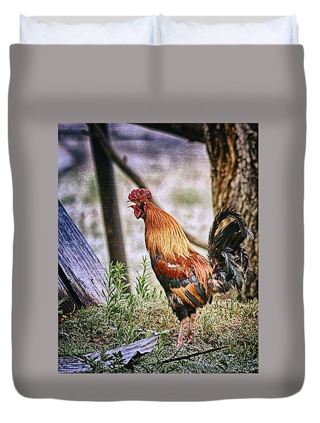 Wakeup Call Duvet Cover