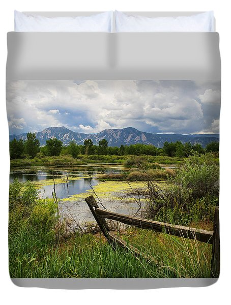 Waldon Ponds Duvet Cover