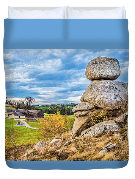 Waldviertel Duvet Cover by JR Photography