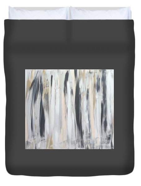 Walk In Peace Duvet Cover