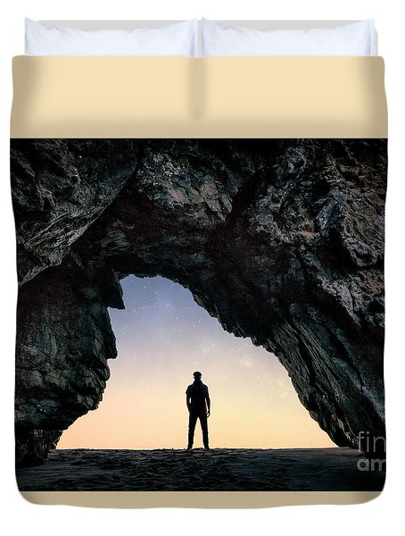 Walk Into My Dream Duvet Cover
