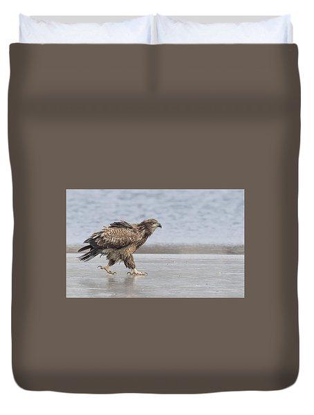 Walk Like An Eagle Duvet Cover