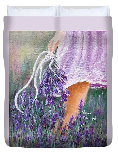 Walk Duvet Cover