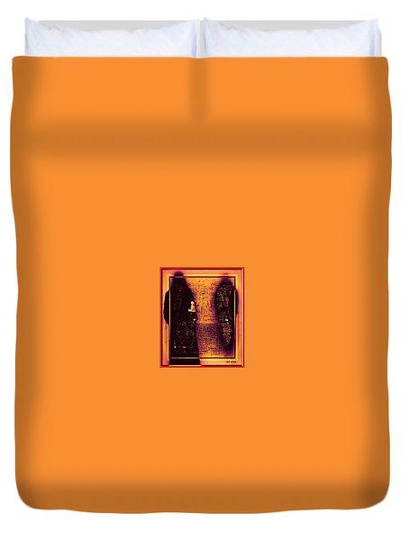 Walk With The Forbidden Duvet Cover by Tony Adamo