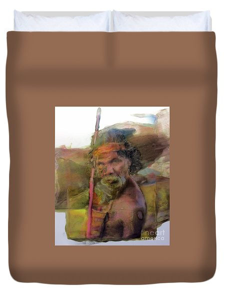 Walkabout Duvet Cover