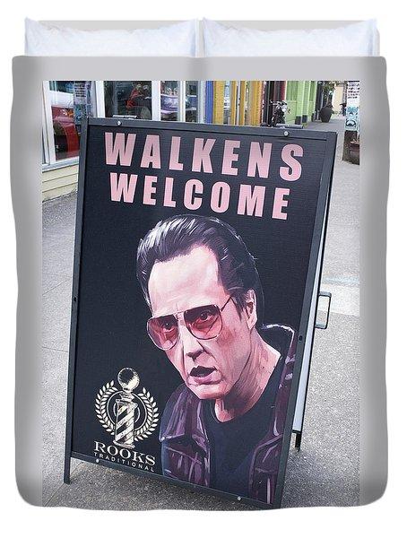 Walkens Welcome Duvet Cover