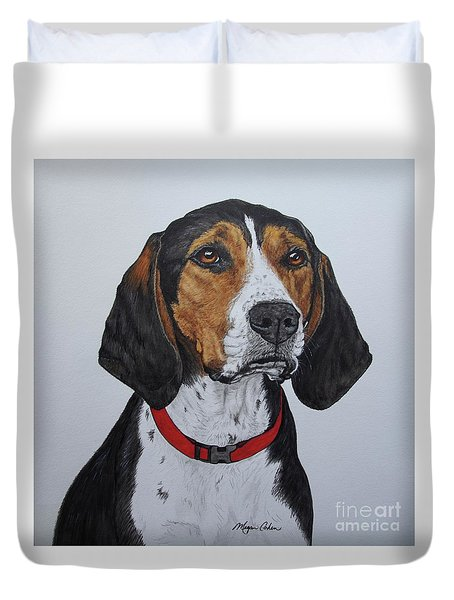 Walker Coonhound - Cooper Duvet Cover