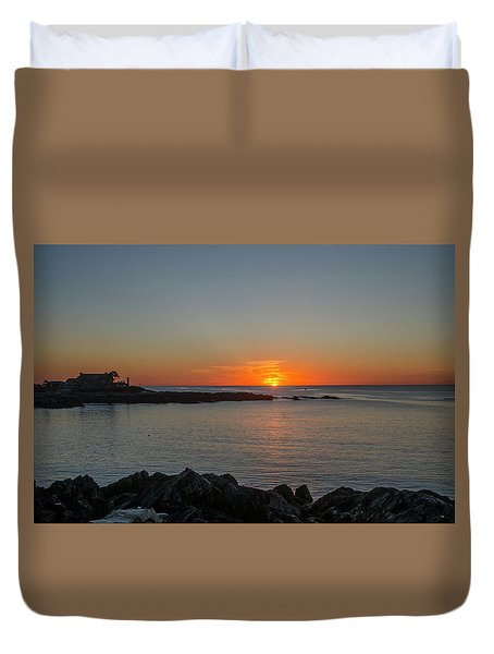 Walkers Point Kennebunkport Maine Duvet Cover