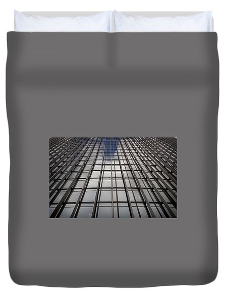 Walkie Talkie Skyscraper London Duvet Cover by Shirley Mitchell