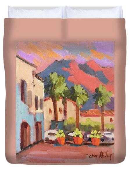Walking Area In Old Town La Quinta Duvet Cover