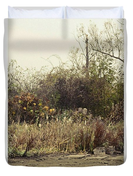 Walking By The Lake  #landscape #lake Duvet Cover